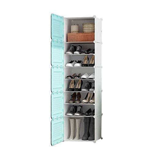 Diaod Zapato Simple gabinete, Gabinete de Almacenamiento Sencilla Balcón Asamblea Locker plástico Polvo DE LA CASA Zapatero