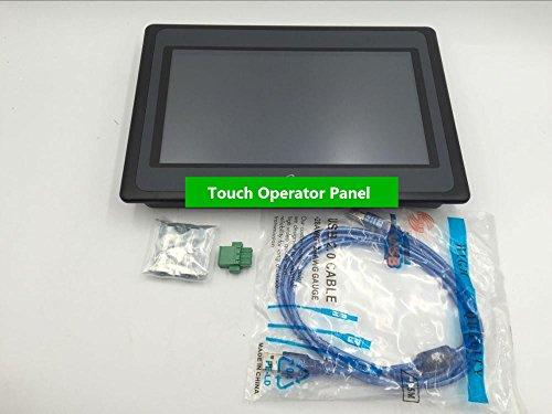 Preisvergleich Produktbild Gowe 25, 7 cm Zoll HMI Touch Operator Panel Display Bildschirm eView ET100 1024 * 600 mit kostenloser Programmierung Kabel & Software