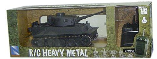 NewRay 87543 Ferngesteuerter Modell-Panzer Tiger1 Heavy Metal 1:32