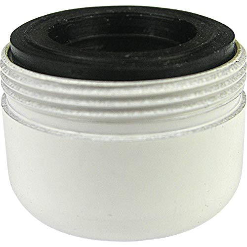 Larsen Supply Co, Inc TV205538 15/16' Macho, Doble Rosca Acabado Blanco aireador 1,2, 1.2 gpm