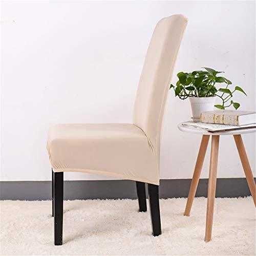 Tireyeres Fest Farbe Spandexstuhlabdeckung Speise XL Größe Couch-Sitzabdeckung Stuhlbezug Stuhl Küche Hussen 1PC Color 8 XL Size