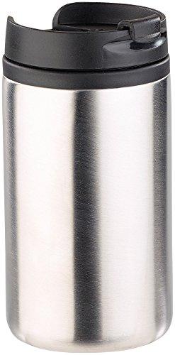 Rosenstein & Söhne Thermobecher: Doppelwandiger Edelstahl-Isolierbecher, hält warm & kalt, 280 ml (Coffee To Go Becher)