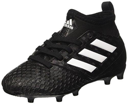 adidas Kinder-Unisex Ace 17.3 Fg J Fußballschuhe, Schwarz (Core Black / Ftwr White / Core Black), 36 EU