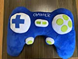 Video Game Controller Plush Pillow, Soft Shaped Throw Cushion for Gamer Room Decorative Bed Sofa Couch Computer Chair Play Station Box Lightweight Gift Gaming Decore Adult Teen Boys Kids