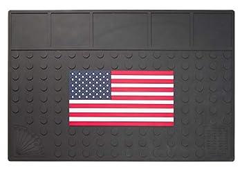 OddHopper Workbench Mat - Flat American Flag …