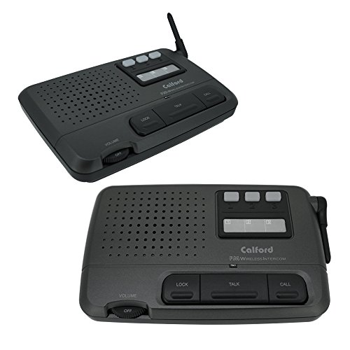 Calford Technology Ltd BCHLA4 Digital 3-Channel FM Wireless Intercom System for Home and...