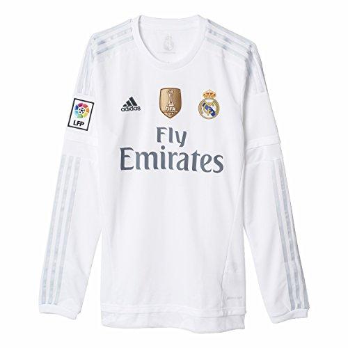 adidas Herren T-Shirt Real H JSY LWC XXXL Weiß/Grau