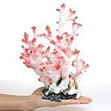 zhuangyif Artificial corales de arrecifes de Piedra rocalla jardinería cáscara Falsos Peces de Coral Plantas de Acuario Tanque de Agua de mar decoración Conjunto del Tanque de Acuario (Color : Blue)