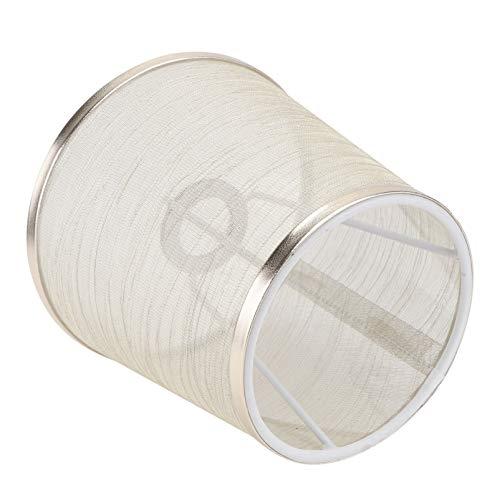 BESTonZON Pantallas de Lámpara de Malla Grandes Pantallas Decorativas de Tela de Araña Reemplazo de Pantalla para Lámpara de Mesa Y Luz de Piso Dorado