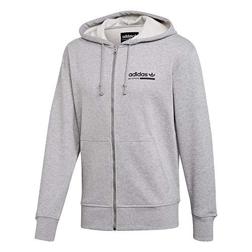 adidas Originals Zip Hoody Sweatjacke (M, Grey)