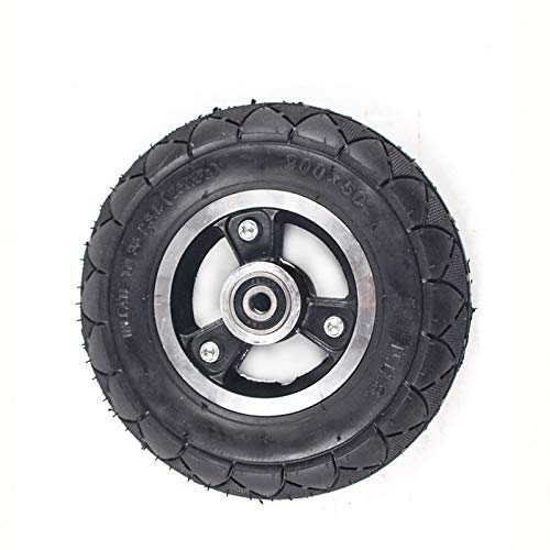 Neumático de Silla de Ruedas para Scooter de Movilidad 200 X 50 (8x2) Relleno sólido 200 * 50 para E100 E125 E200 Scooter Vapo