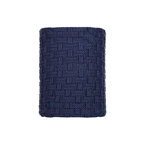 Buff Airon Cache-Cou tricoté Polaire Mixte Adulte, Bleu (Dark Mix), Taille Unique