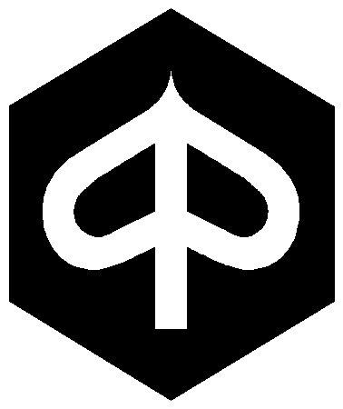 SUPERSTICKI Piaggio Logo 15 cm stickers, scooter, scooter, autostickers, wandtattoo, sticker, professionele kwaliteit voor lak, ruit, enz. wasstraatbestendig