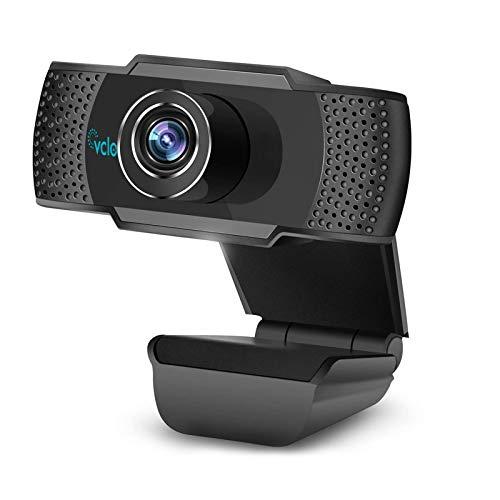 Webcam Full HD 1080P avec Microphone vcloo Caméra...