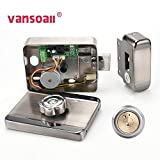 VANSOALL Electric Electronic RFID Door Lock DC 12V for Doorbell Intercom Access Control Security System