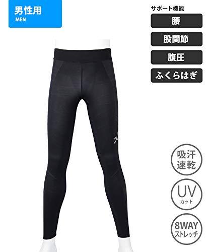 [シーダブリューエックス]CW-Xスポーツタイツスピードモデル(ロング丈)吸汗速乾UVカットHPO699メンズRE日本M(日本サイズM相当)