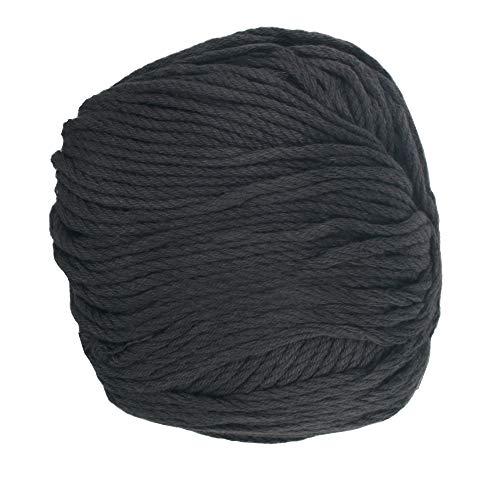 JubileeYarn - Ovillo de bambú (4 bolas), color gris