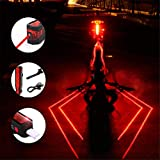 Plextone 3 Modes Spider Rear LED Taillight (1PCS) Night Run Backpack Camping Ideal