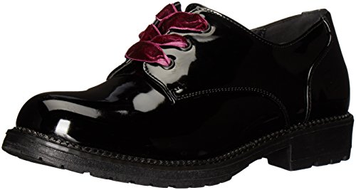 Dirty Laundry by Chinese Laundry Women's Rockford Oxford, Black Smooth, 9 M US