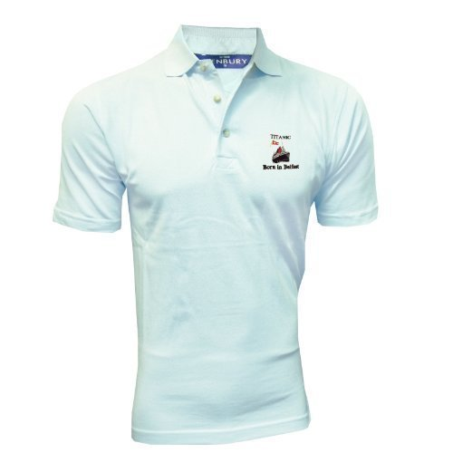 Henbury - Polo - Homme - Bleu - Powder Blue - moyen