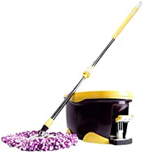 JSZMD Mop Bucket Rotating Mop Hands-Free Washing Wet and Dry Mop Household Cleaning Tools