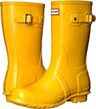 Hunter Original Short Wellington Boots - Botas de Caucho para Mujer, Color Amarillo, Talla 37