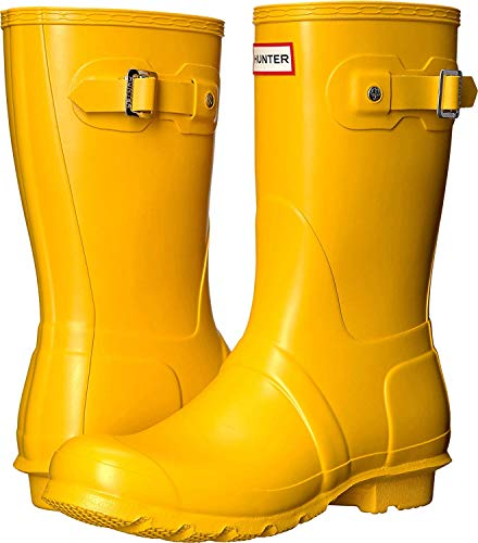 Botas de agua Hunter amarillas