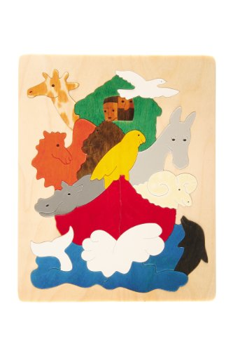 Puzzle Arche de Noé en bois