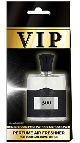 3X Caribi VIP Auto Lufterfrischer Parfüm HEIM BÜRO Duft ähnlich wie teures Parfüm - №500