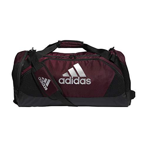 adidas Unisex Team Issue II Medium Duffel Bag, Team Maroon, ONE SIZE