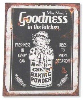 AVENUELAFAYETTE Cadre Tableau Plaque Murale métal Pub Vintage rétro (Goodness)