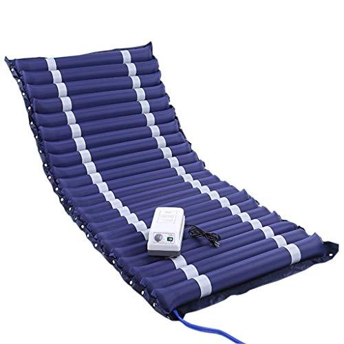 LXESWM Anti-Dekubitus-Luftmatratze Aufblasbarer Bett-Luft-Deckel for Dekubitus Und Dekubitusbehandlung - Passend for Standard-Krankenhaus-Bett (Size : A)