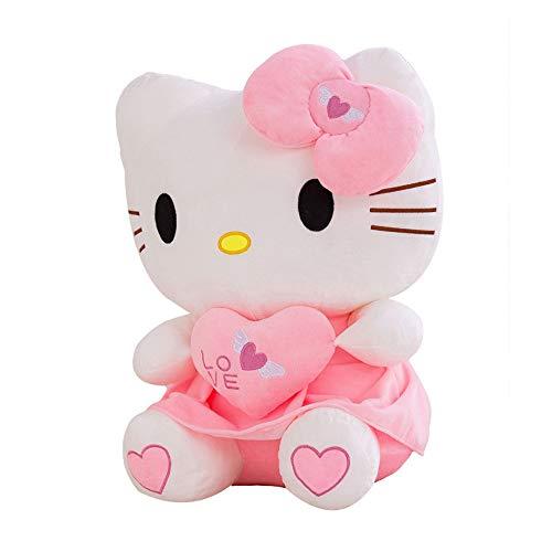 XQYPYL Hello Kitty Plüsch Spielzeug Kissen Puppe Kinder Valentinstag Geburtstag Geschenk 30cm-70cm,01,30cm