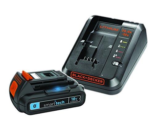 Black+Decker bl1518stc-fr Kit Batería 'smart-tech 18V 1,5Ah con cargador rápido 1A