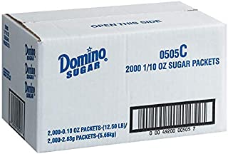 Product of Domino Sugar Packets, 2,000 ct.