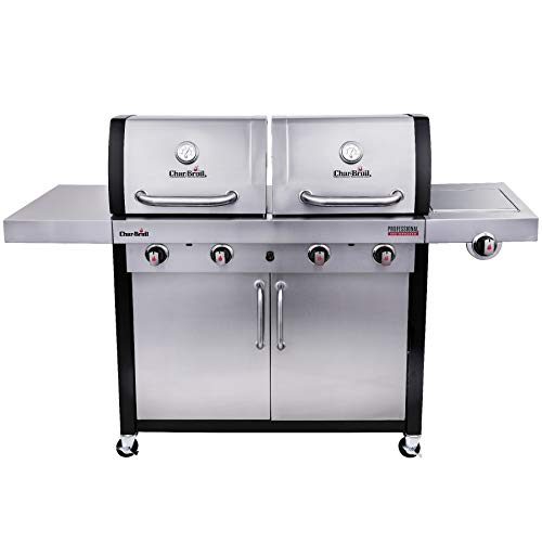 Char-Broil Professional Series 4600 S Double Header Gasgrill, Edelstahl