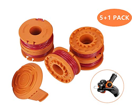 Buy Discount Replacement Trimmer Spool Line for Worx, Edger String Trimmer spools Line Weed Eater St...