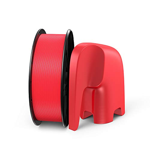 PLA Filament, LABISTS 3D Drucker Filament,1,75mm PLA Filament für 3D Printer, 1kg Spule Rot