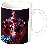 MasTazas Crisis On Infinite Earths 2019 Arrowverse Brandon Routh Melissa Benoist Stephen Amell Arrow The Flash Superman SuperGirl Tazza Mug