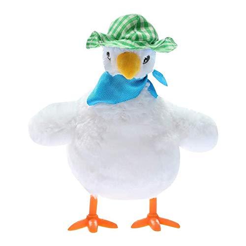 JHHXW Juguetes de Peluche, una gallina Que Pone Huevos,