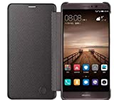 ELICA Perfect Fitting Full Window Flip Cover for Huawei Mate 9 - Black