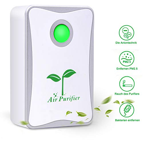 Belita Amy Air Purifier, Plug in Air Purifier for Home Mini Portable Silent Air Purifier Travel-Size...