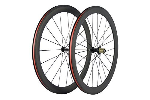 Superteam Bike Wheel Clincher 700C Carbon Wheelset 38/50/60/88 UD Matte (50mm Depth)