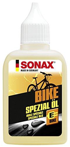 SONAX BIKE Spezial Öl (50 ml) - korrosionsschützend, schmieren von Schaltungsgelenken, Bremshebeln, Federgabeln, Umwerfern & Bowdenzügen, E-Bike geeignet | Art-Nr. 08575410