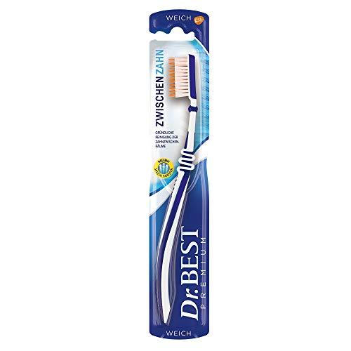 Dr. Best Zwischenzahn Zahnbürste, weich, für eine gründliche Reinigung der Zahnzwischenräume mit Spezialborsten, 1 Stk.