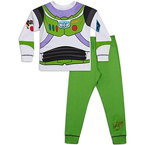 Jungen Toy Story Buzz LightYear Oder Woody Verkleidung Schlafanzug 18-24m 2-3y 3-4y 4-5y 5-6y - Buzz, 92-98