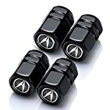 4 Pcs Metal Car Wheel Tire Valve Stem Caps for Acura ILX TLX RLX RDX MDX NSX...