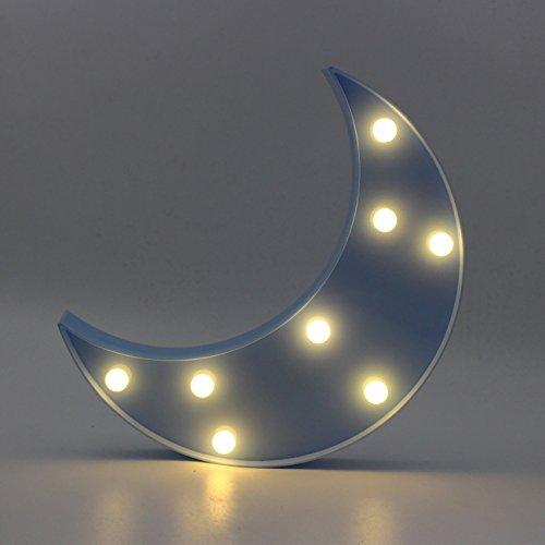 Yaeer Señal de luz decorativa 3D con flecha negra y luz nocturna LED para habitación de bebé, fiesta, vacaciones, como regalo para niños