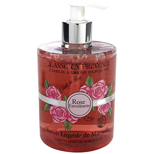Jeanne en Provence Rose main Gel lavant 500 ml