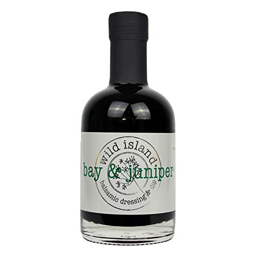 Wild Island aderezo para ensaladas de vinagre balsámico aromatizado con laurel y bayas de enebro 250ml